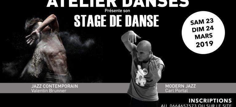 STAGE DE DANSE / MARS 2019